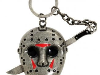 Friday The 13th Jason Mask Metal Key Chain