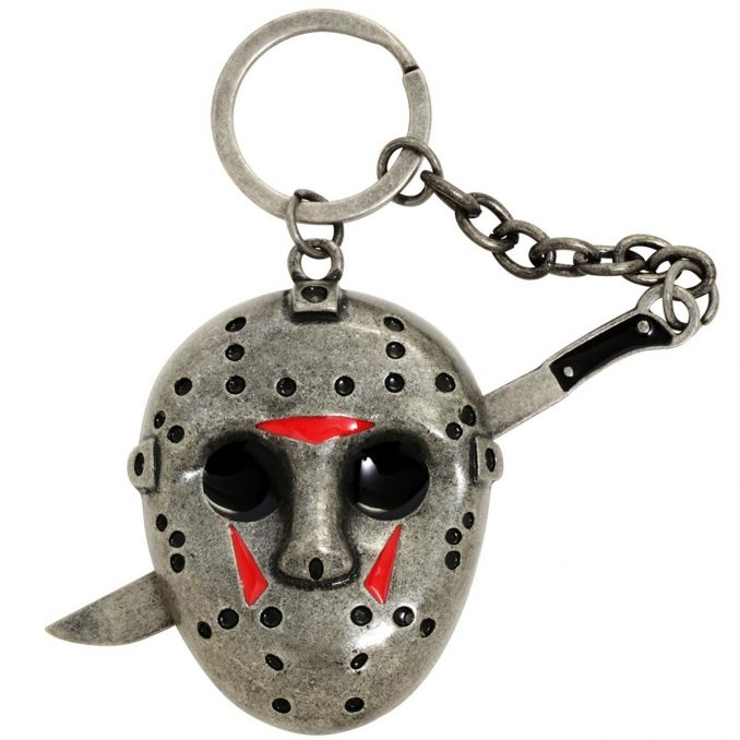 Friday The 13th Jason Mask Metal Key Chain