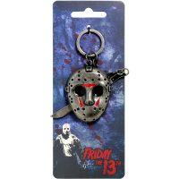 Friday The 13th Jason Mask Metal Keychain
