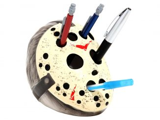 Friday The 13th Jason Mask Pen Holder