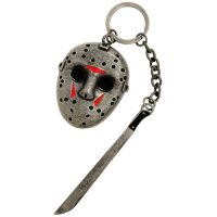 Friday The 13th Jason Voorhees Mask Metal Key Chain
