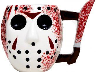 Friday the 13th Jason Mask Knife Mug