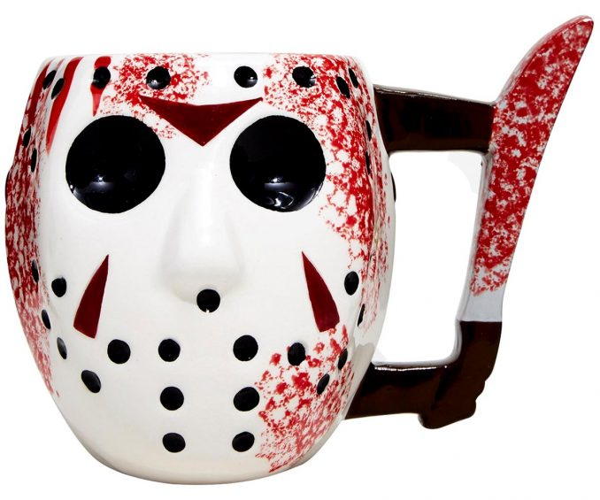 Friday the 13th Jason Mask Knife Mug