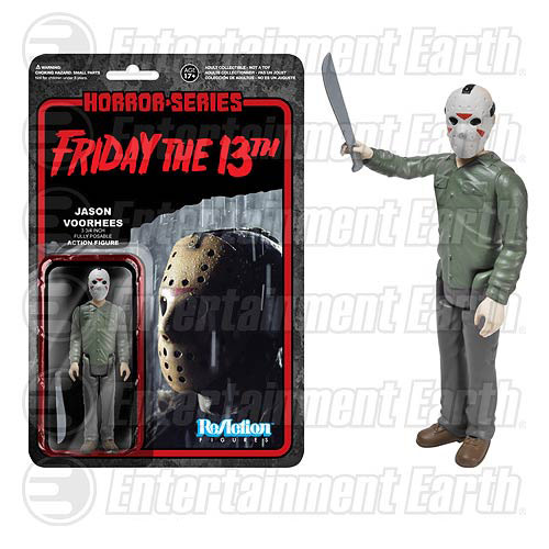 Toys For 13 And Up : Friday the th jason voorhees retro action figure