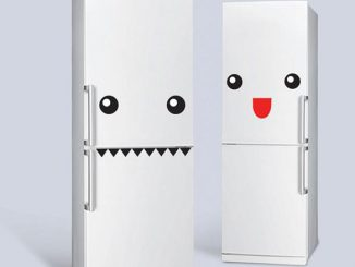 Fridge Monster Stickers