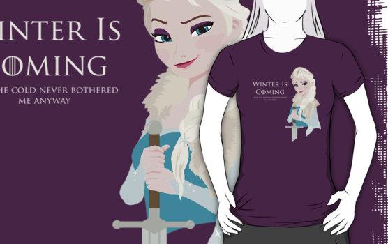 Frozen Is Coming Shirt