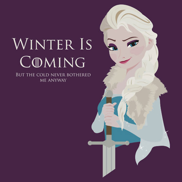 Frozen Is Coming T Shirt