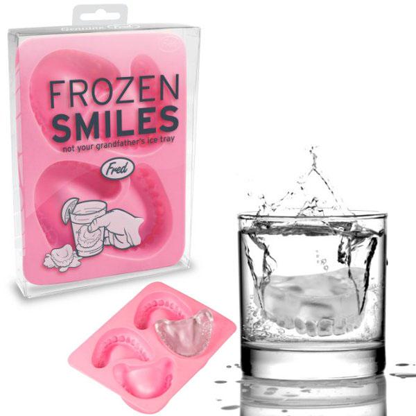 Frozen Smiles Ice Cube Tray