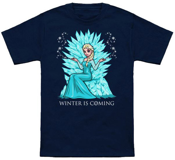 Frozen Winter Is Coming Shirt