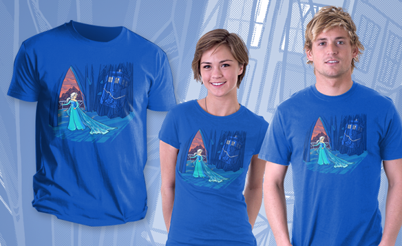 Frozen in Time and Space Shirt
