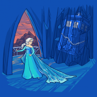Frozen in Time and Space T-Shirt