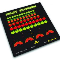 Fruit Invaders Chopping Board
