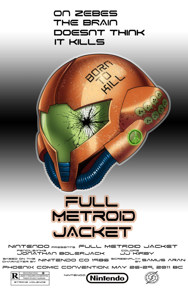 Full Metroid Jacket a Nintendo Movie Mashup