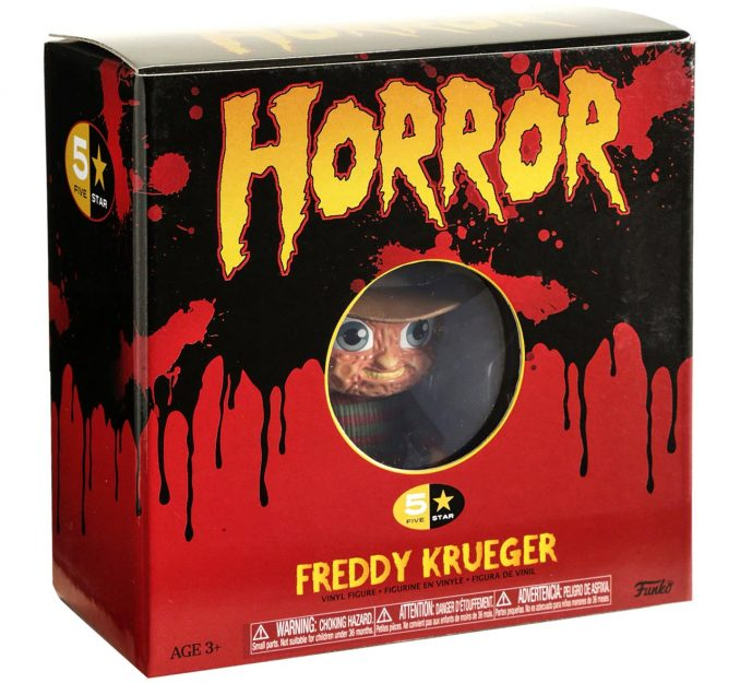Funko 5 Star Horror Nightmare On Elm Street Freddy Krueger Box
