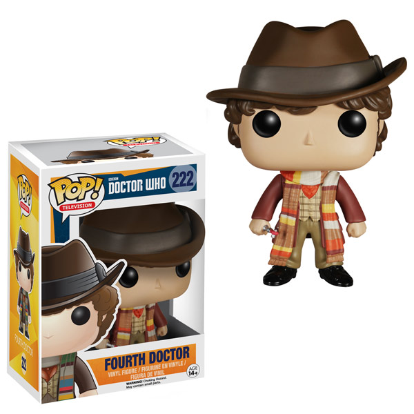 Funko Doctor Who 4th Doctor Pop Vinyl Figure