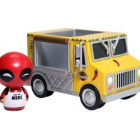 Funko Dorbz Ridez Deadpool Chimichanga Truck