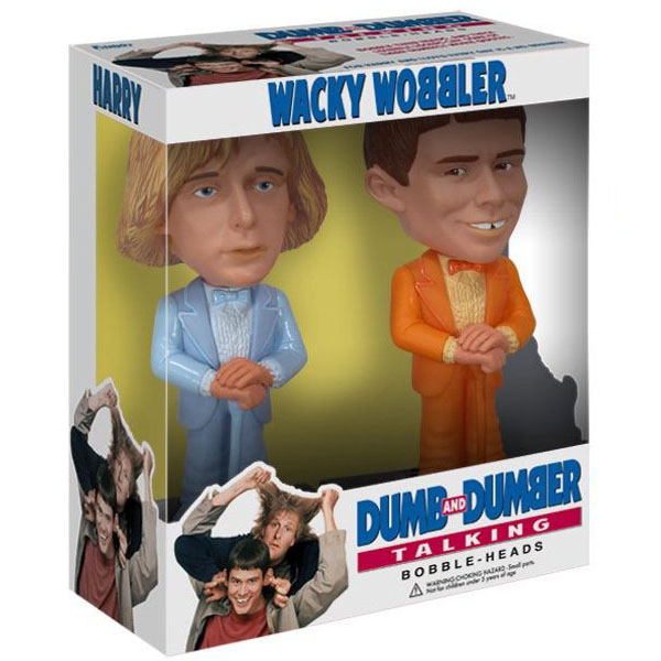 Funko Dumb and Dumber Talking Bobble Head Set