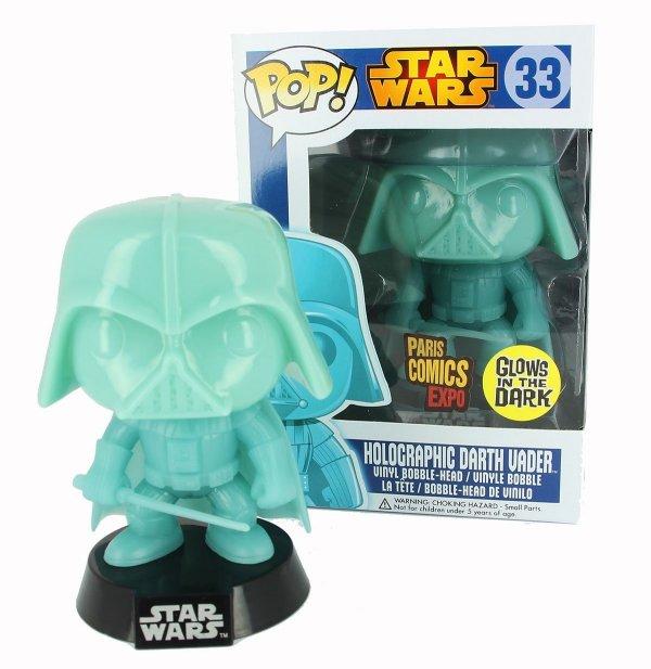 Funko Holographic Glow in the Dark Darth Vader