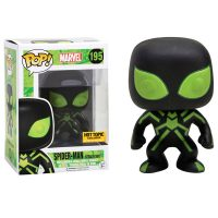 Funko Marvel Pop Vinyl Glow-In-The-Dark Spider-Man Stealth Suit Bobble-Head