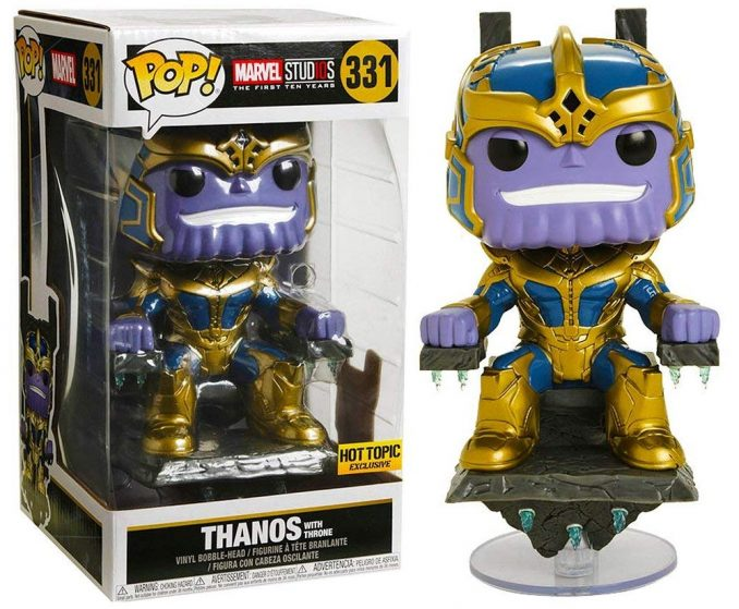 Funko Marvel Studios The First 10 Years Pop Thanos