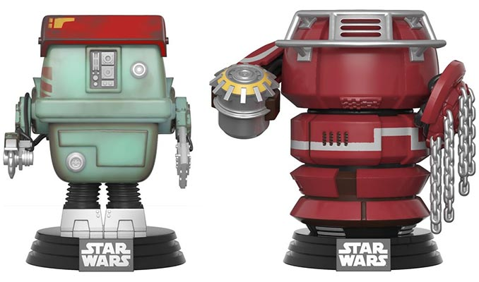 Funko POP! Star Wars Fighting Droids Vinyl Figures