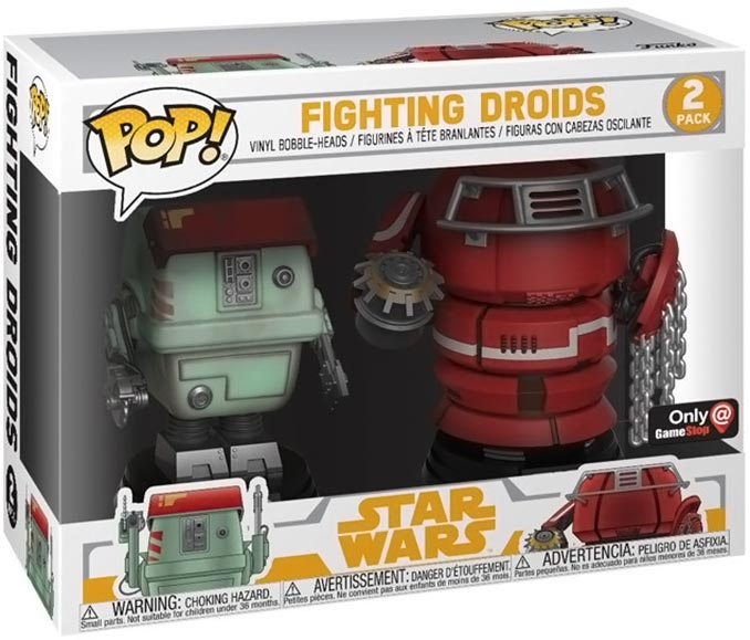 Funko POP! Star Wars Fighting Droids