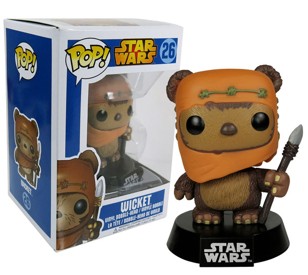 Funko POP Star Wars Wicket Bobble Figure