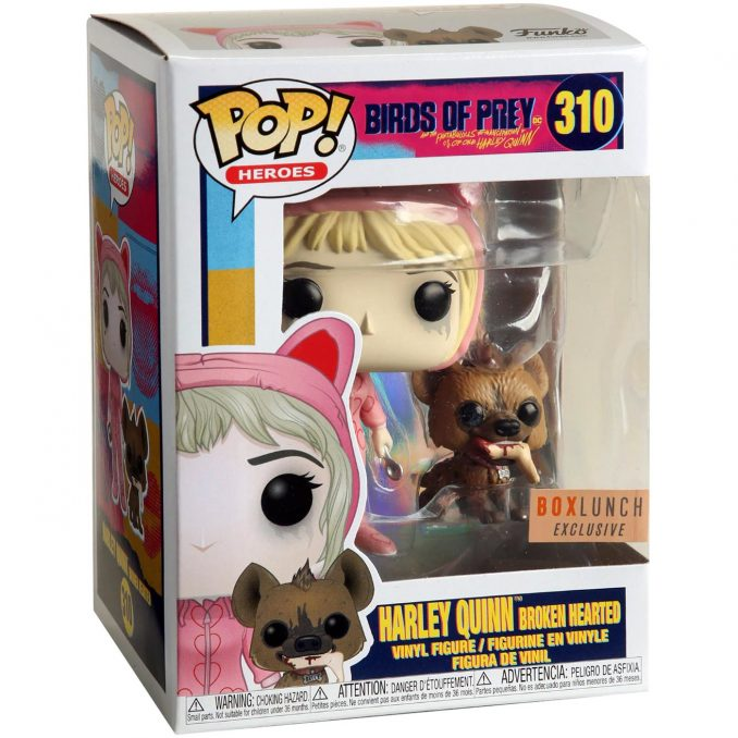 Funko Pop 310 Birds of Prey Harley Quinn Broken Hearted