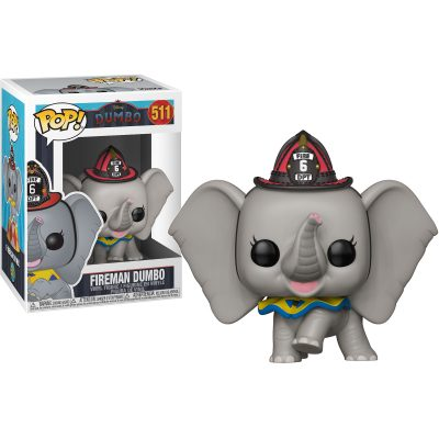 Funko Pop 511 Disney Fireman Dumbo Figure