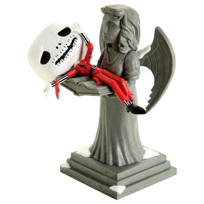Funko Pop 628 Nightmare Before Christmas Jack On Angel Statue