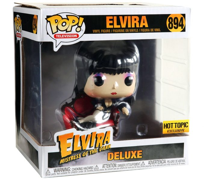 Funko Pop 894 Elvira Mistress Of The Dark Deluxe Figure