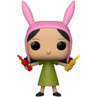 Funko Pop Bob's Burgers Louise Belcher With Condiments