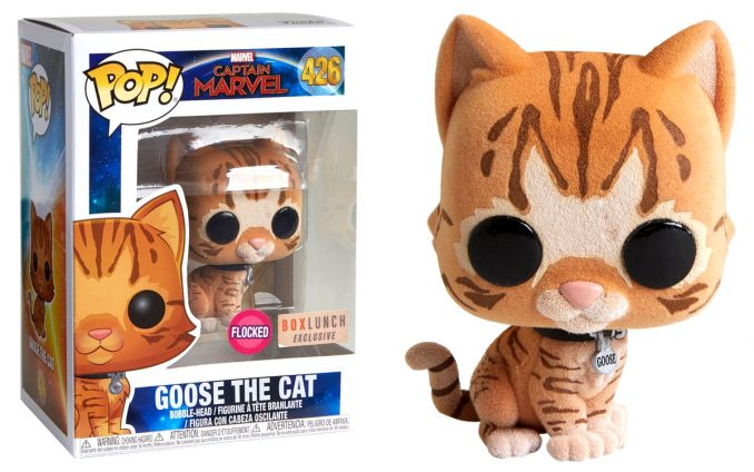 Funko Pop! Captain Marvel Goose The Cat Bobble-Head