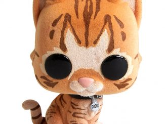 Funko Pop! Captain Marvel Goose The Cat Flocked Bobble Head