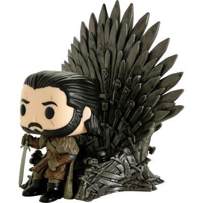 Funko Pop Deluxe Game of Thrones Jon Snow Iron Throne