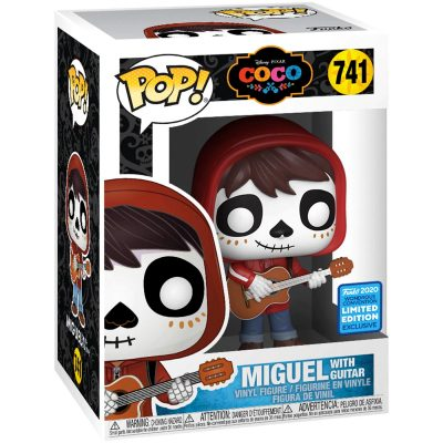 Funko Pop Disney Pixar 741 Coco Miguel with Guitar