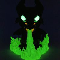 Funko Pop Disney Villains Maleficent as the Dragon Glow in the Dark