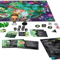 Funko Pop Funkoverse Rick and Morty 100 Strategy Board Game