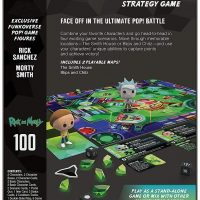 Funko Pop Funkoverse Rick and Morty 100 Strategy Game Box Back