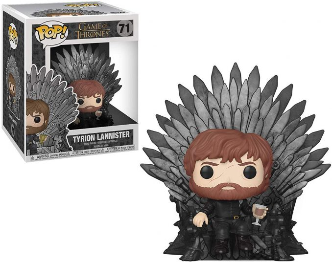 Funko Pop Game of Thrones 71 Tyrion Lannister Sitting on Iron Throne