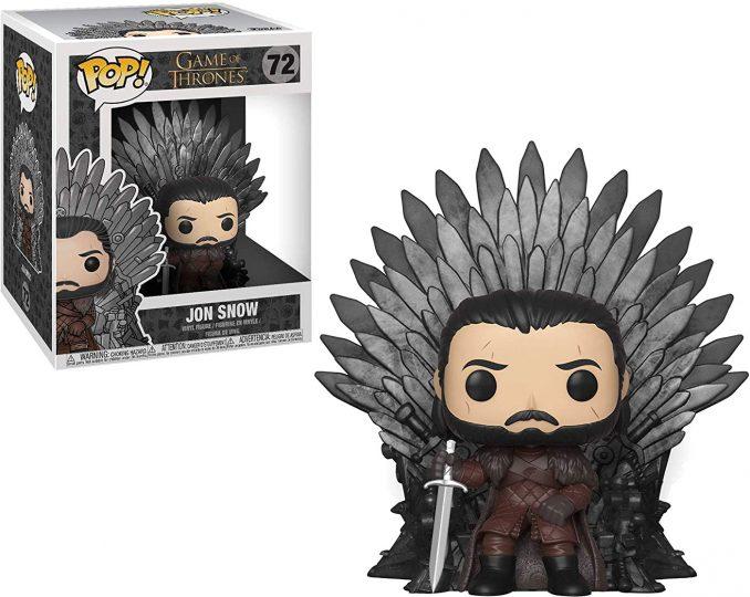 Funko Pop Game of Thrones 72 Jon Snow Sitting on Iron Throne