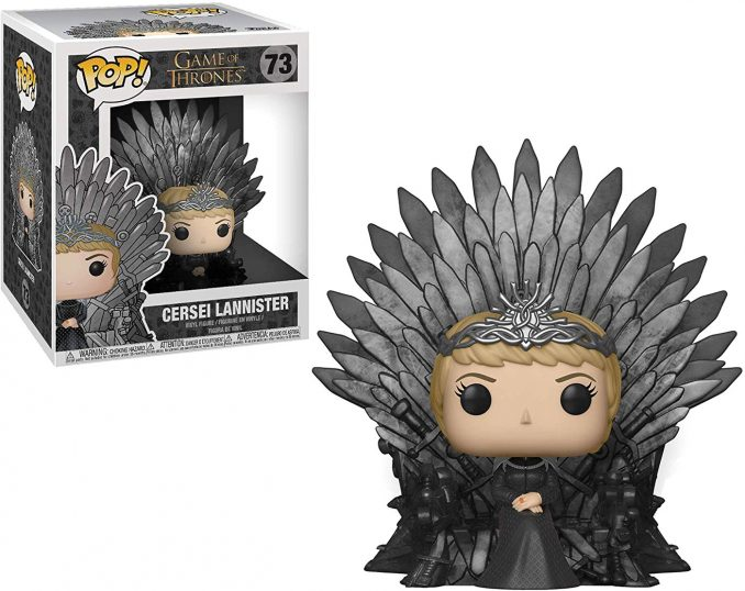 Funko Pop Game of Thrones 73 Cersei Lannister Sitting on Iron Throne