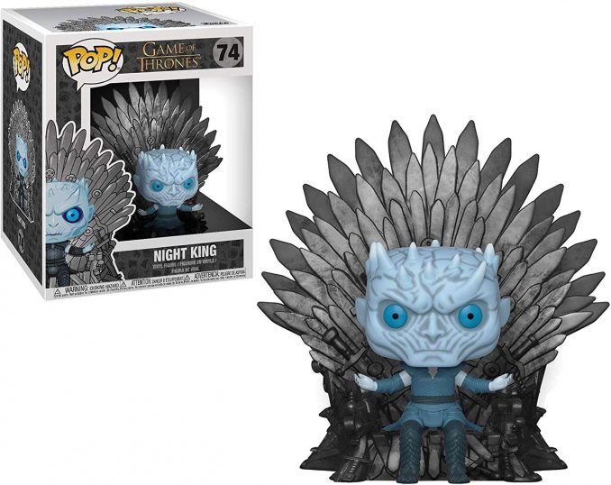 Funko Pop Game of Thrones 74 Night King Sitting on Iron Throne