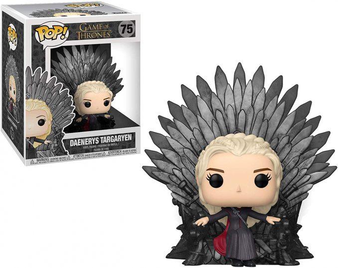 Funko Pop Game of Thrones 75 Daenerys Targaryen Sitting on Iron Throne