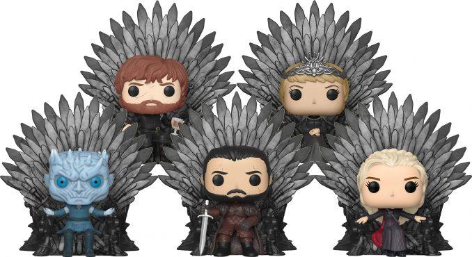 Funko Pop! Game of Thrones Deluxe Iron Throne Figures