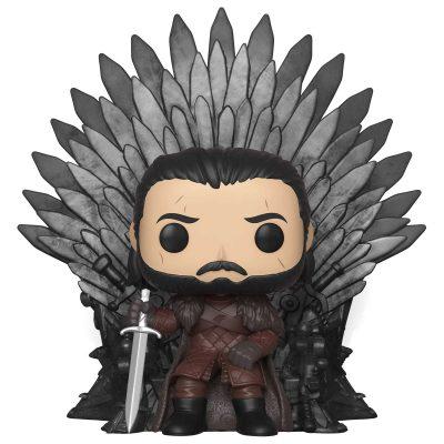 Funko Pop Game of Thrones Jon Snow Iron Throne