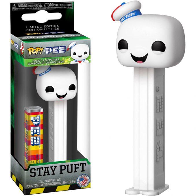 Funko Pop Ghostbusters Stay Puft PEZ Dispenser