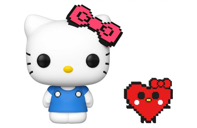 Funko Pop Hello Kitty 8 Bit Chase Figure