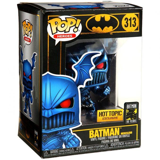 Funko Pop! Heroes 313 Batman Merciless Metallic Vinyl Figure