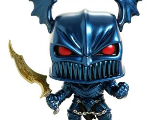 Funko Pop! Heroes Batman Merciless Metallic Vinyl Figure